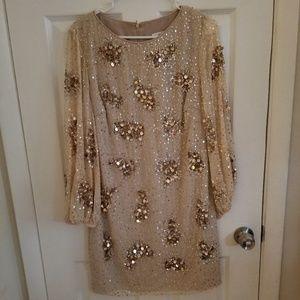 Badgley Mischka Sequined Dress